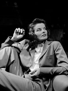 Katharine Hepburn  					  						One half of Hepburn and Tracy, and that alone would be enough. But there's also Hepburn and Bogart, Hepburn and Grant, Hepburn and Poitier — in all, sixty-two years of the most intelligent acting ever to grace the big screen.
