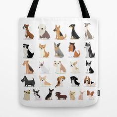 Dog Overload - Cute Dog Series Tote Bag
