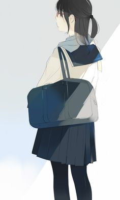 yousing: (via  【50枚】セーラー服を着ている女の子の後ろ姿フェチ向けの画像下さい! その1 | 2次エロ画像専門館)