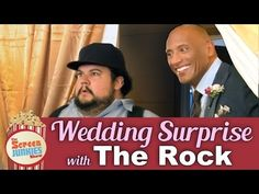"""Dwayne """"The Rock"""" Johnson Surprised His Friend And Superfan By Officiating His Wedding"""