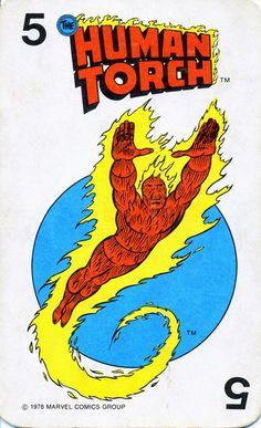 Rob's Room: Marvel Comics Superheroes Card Game (1978)