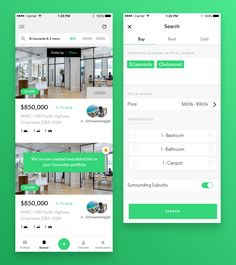 Real estate app large