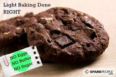 Light Baking Done Right: How to adapt your recipes to bake without sugar, eggs or butter | via @SparkPeople #food #dessert #healthy