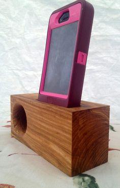 Ash Wood Music Amplifying Stand