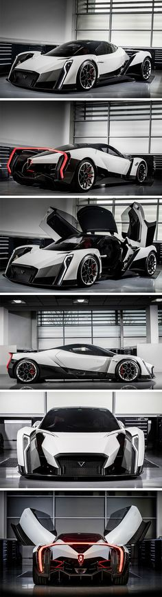 This absolute monster of a car by Singapore based Vanda Electrics co-powered with Williams Advanced Engineering is code-named the Dendrobium. The fully electric hypercar has zero emissions, goes to a top speed of 200mph and goes from 0 to 62 in just 2.7 seconds.