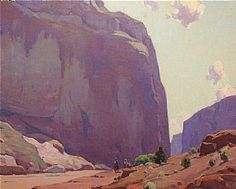 Canyon De Chelly by Glenn Dean Oil ~ 32 x 40