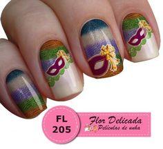 Película FL205 - Flor Delicada Películas de Unha.