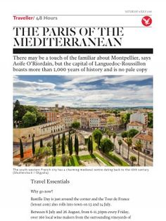 The Paris of the Mediterranean   Traveller   The Independent