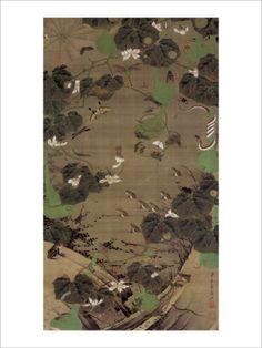 Jungle Law Giclee Print by Jyakuchu Ito at Art.com