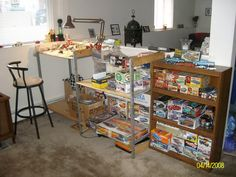 You know when your partner lets you put your model work bench in the living room, that's a keeper.