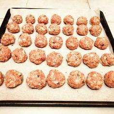 Fašírky z mletého mäsa so syrom - Receptik. Ethnic Recipes, Food, Essen, Meals, Yemek, Eten