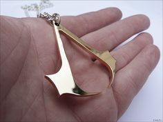 Brass Assassin's Creed #Pendant