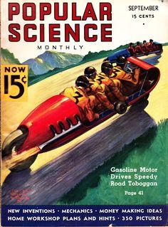Popular Science Magazine cover.