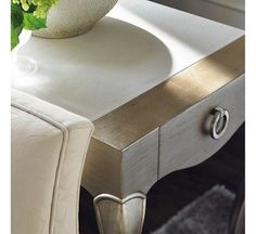 French-y : New Traditional : LIVING - END/SIDE TABLES : TRA-SIDTAB-012 | Caracole Furniture