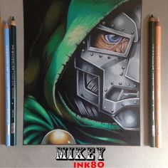 """#drdoom  Follow the artist: @mikeyink80  #artbotic #artist #art #"" Photo taken by @artbotic on Instagram, pinned via the InstaPin iOS App! http://www.instapinapp.com (06/24/2015)"