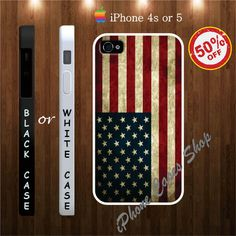 american flag iphone 4s and 5 cases, united state flag - iPhone 4 Case, iPhone 4s Case, iPhone 5 Case