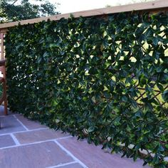 Extendable Artificial Hedging Garden Screening Laurel | Artificial Hedging | Carpets & Floors Online
