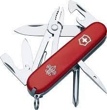 Victorinox Mechanic Boy Scout Red Swiss Army Knife