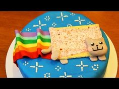 nerdy nummies   NYAN CAT CAKE - NERDY NUMMIES   PopScreen