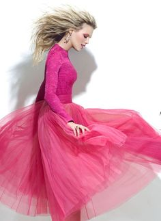 Pink, tulle, and so girly girl. Pretty In Pink, Pink Love, Pink Purple, Hot Pink, Magenta, Rosa Style, I Believe In Pink, Frou Frou, Everything Pink