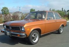 1975 Opel Ascona A - looks like my grandfather's car. He drove it forever.