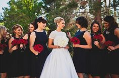 A great twist on the red, white and blue themed wedding. Vintage with some extra pop of color; patriotic and unique! This is so beautiful July Wedding, Red Wedding, Wedding Pics, Wedding Themes, Wedding Bells, Wedding Colors, Wedding Styles, Wedding Vintage, Coral Bridesmaid Dresses