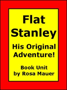Receive True or False statements for each chapter of Flat Stanley: His Original Adventure! by Jeff Brown. Text is available in task card and worksheet formats. Response forms for students and answers for the teacher are provided.Follow me to receive updates from my store.Visit my store to find many more task cards and book units:Rosa Mauer's StoreThank you for shopping at my TPT store.