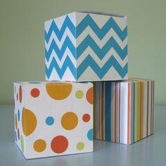 Dots & Stripes Favor Boxes