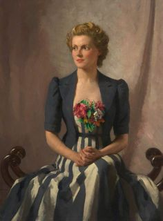 """Ann Todd"" -- by Thomas Martine Ronaldson (British, 1881–1942); photo courtesy Gallery Oldham"