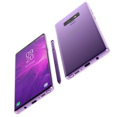 Buy Samsung Galaxy Note 9 Lavendar by madMIX_X on Realistic (copy) model of Samsung Galaxy Note 9 Lavendar Concept This set: element The model given is e. Disney Phone Cases, Cool Phone Cases, Galaxy Apples, Top Smartphones, New Technology Gadgets, Latest Cell Phones, Old Phone, Galaxy Note 9, Iphone