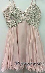 #promdress01 prom dresses - 2015 sweetheart straps sequins pink chiffon short prom dress for teens, bridesmaid dress, occasion dress -> www.promdress01.c... #coniefox #2016prom