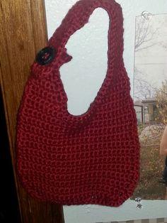 Baby Bib crocheted by Laura. Aka me.