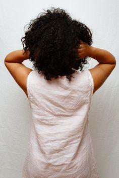 Handmade 100% linen Jumper Dress, Staple Pieces, Pale Pink, High Neck Dress, Handmade, Color, Dresses, Fashion, Turtleneck Dress
