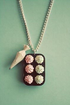 Cupcake Pan Necklace @Sarah Metcalf