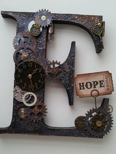 We need a Y  Steampunk letters