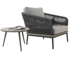 Modern, edgy, relaxed and sophisticated perfectly describe the Oasis Lounge Chair and Ida Side Table Combination.