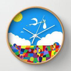 10 Disney's Pixar's Up Nursery Art Wall Clock by foreverwars, $50.00
