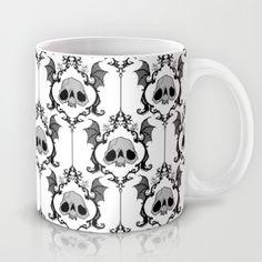 Halloween Damask Mug by Abigail Larson - $15.00