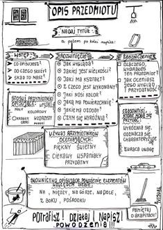 Gosia Olechnowicz's media content and analytics Creative Writing Ideas, Polish Language, Gernal Knowledge, School Subjects, School Notes, Study Notes, School Organization, Science For Kids, Design Thinking