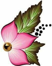 Fabric Painting, Diy Painting, Cute Easy Drawings, Notebook Art, Beadwork Designs, One Stroke Painting, Country Paintings, Unusual Art, Flower Doodles
