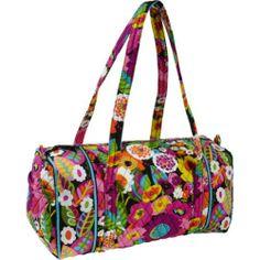 vera bradly island bloom and va va bloom | Vera Bradley Small Duffel in Va Va Bloom $67.95
