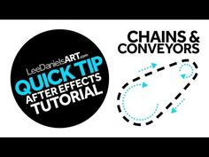 QUICK TIP | After Effects | Chains and Conveyors - YouTube