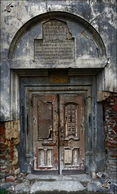 An abandoned church in Tbilisi - Republic Of Georgia.