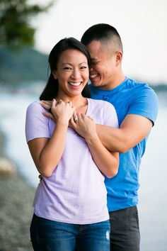 Washington Engagement Photography in Tacoma - cute engagement poses