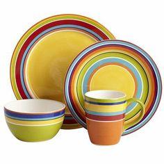Summer Stripes Dinnerware