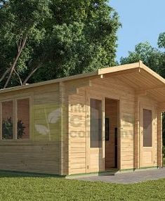 "Micro Log Cabin x ""Maidstone"" Outdoor Rooms, Outdoor Living, Outdoor Kitchens, Garden Huts, Cedar Cabin, Camping Pod, Tiny House Loft, Cottage Porch, Window Sizes"