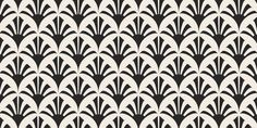 art deco patterns black and white - Google Search