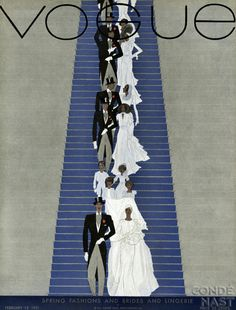 Vogue USA, February 15 1931 - Pierre Mourgue