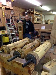 Slater strongman logs