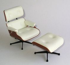 Miniature Eames chair!! this would be amazing.